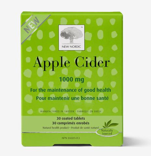 New Nordic Apple Cider 1000 mg - 30 Tablets