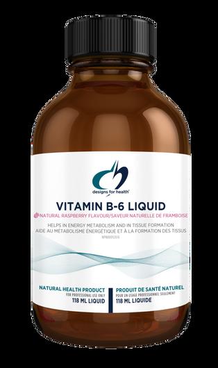 Designs for Health Vitamin B6 Liquid 118 ml