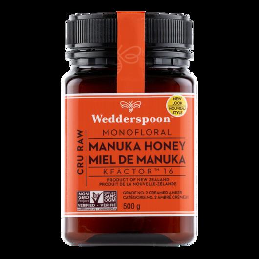 Wedderspoon Raw Manuka Honey KFactor 16 -500 g