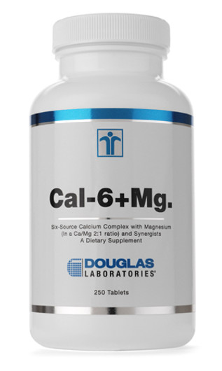 Douglas Laboratories Cal-6 + Mg 250 Tablets