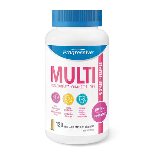Progressive Multivitamin Prenatal  120 Veg Capsules