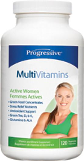 Progressive Active Women Multivitamin 120 Veg Capsules