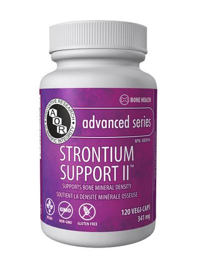 Aor Strontium Support II - 120 Veg Capsules (1162)