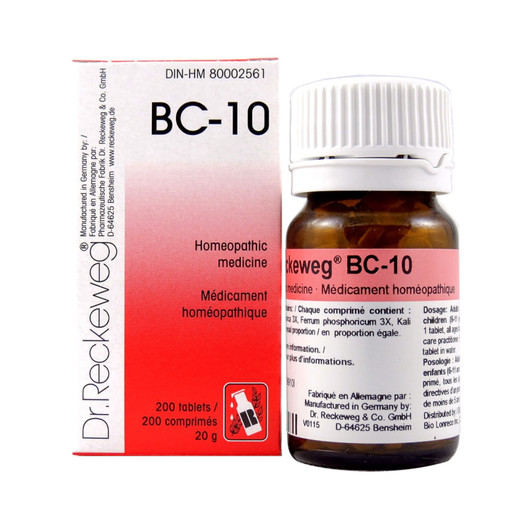 Dr Reckeweg BC10 - 200 Tablets (10100)