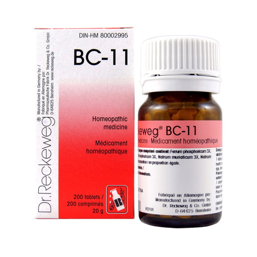 Dr Reckeweg BC11 - 200 Tablets (10101)