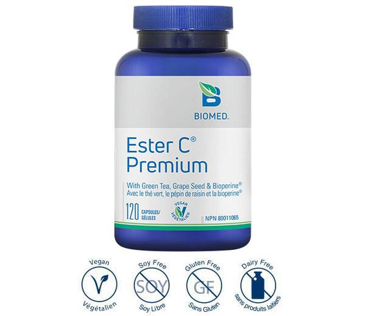 Biomed Ester C Premium 120 Capsules