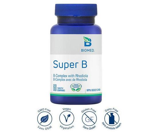 Biomed Super B - 60 Tablets