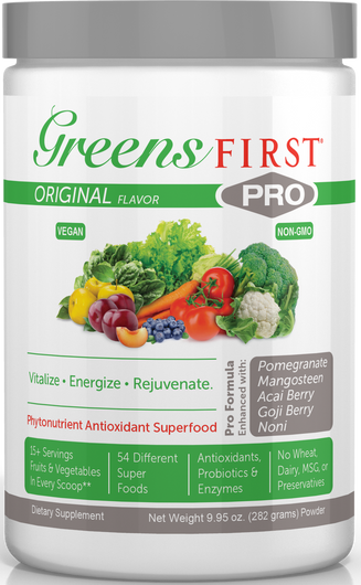 Greens First Pro 282 Grams by Ceautamed