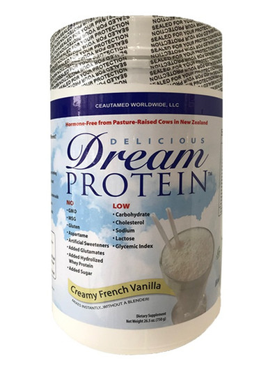 Dream Protein Vanilla By Ceautamed ( New label - Health Palace Copy Right)