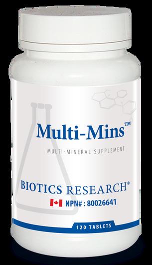 Biotics Research Multi Mins 120 Tablets