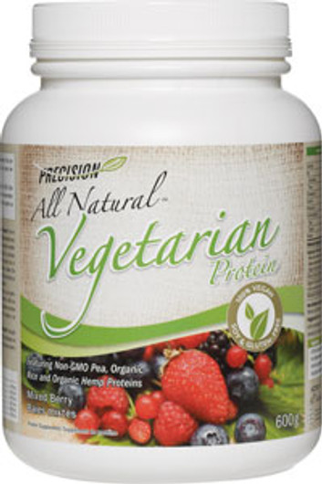 Precision  All Natural Vegetarian Protein - Mixed Berry