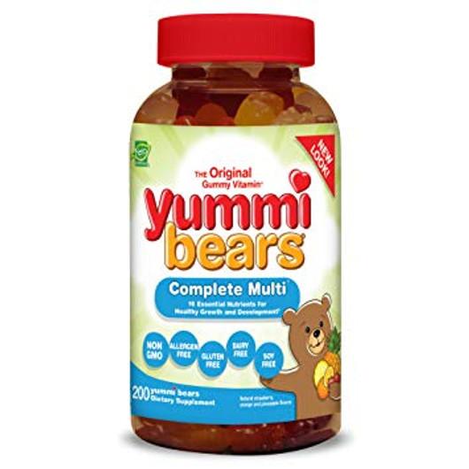 Hero Nutritional Children's Multi Vitamin & Mineral 200 Yummi Bears