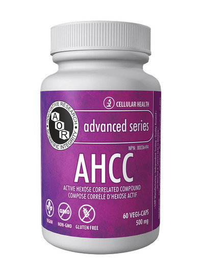 Aor AHCC 60 Veg Capsules (11641)