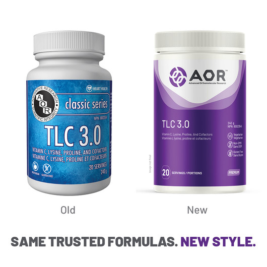 AOR TLC 3 Powder 240 Grams New Style
