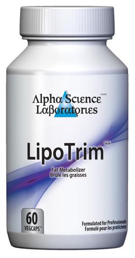 Alpha Science Lipotrim 60 Capsules
