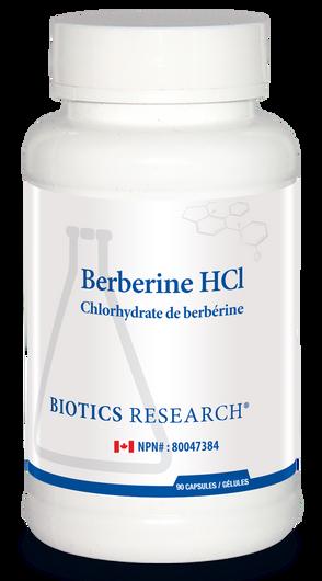 Biotics Research Berberine HCl 90 Capsules