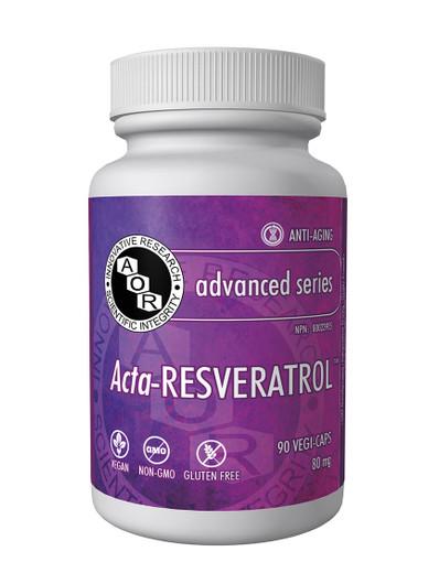 Aor Acta Resveratrol 90 Veg Capsules (1000)