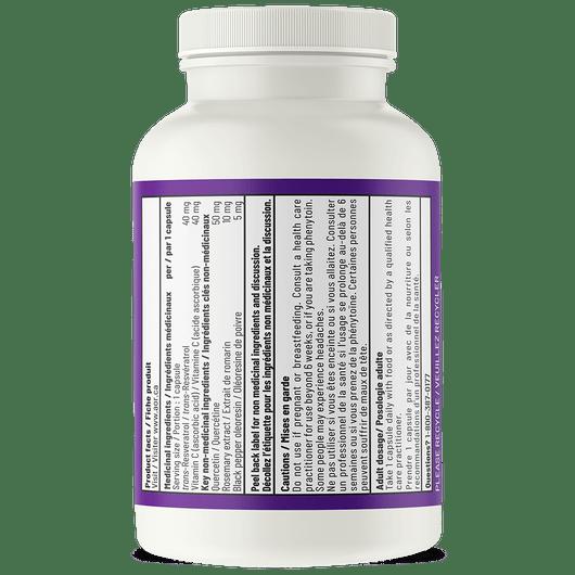 AOR Acta Resveratrol 90 Veg Capsules Product Facts