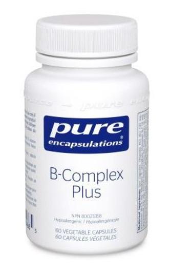 Pure Encapsulations B Complex Plus 60 Veg Capsules