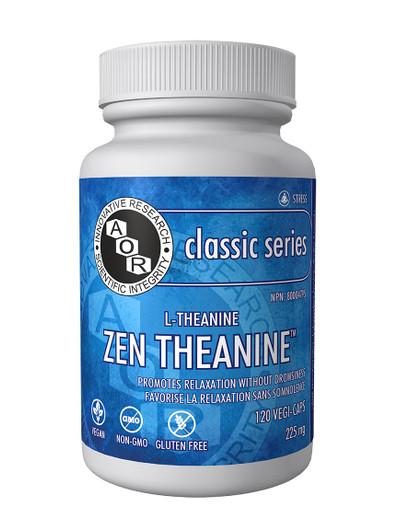 Aor Zen Theanine 120 Veg Capsules (14820)
