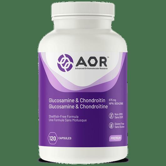 AOR Glucosamine & Chondroitin 120 Vag Capsules