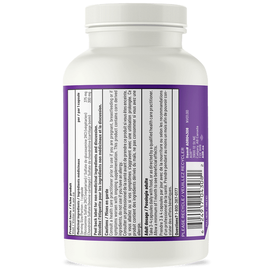 AOR Glucosamine & Chondroitin 120 Vag Capsules Product Facts