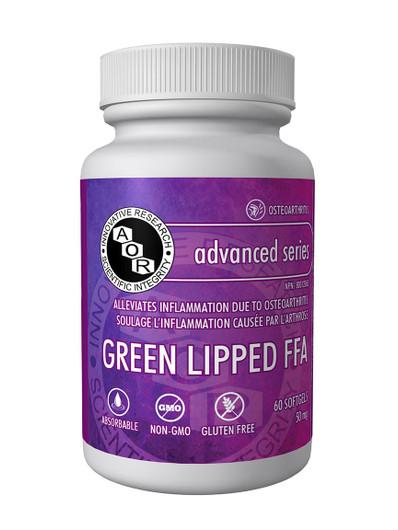 Aor Green Lipped FFA 60 Softgels (1075)