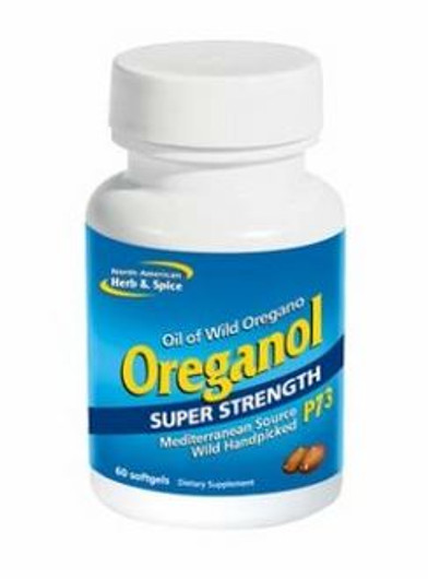 North American Herb & Spice Oreganol P73 Super Strength 140 mg 60 Softgels