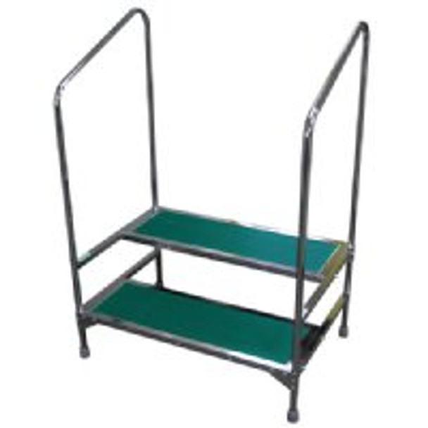 Step Stool with Handrails