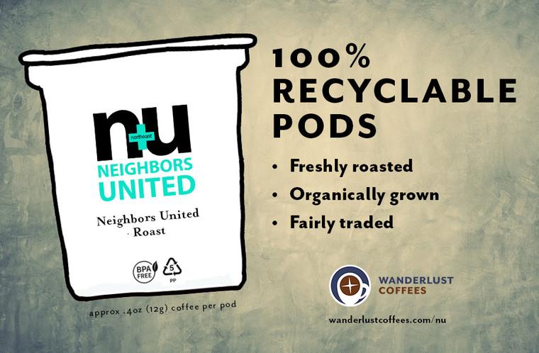 Neighbors United Roast pods