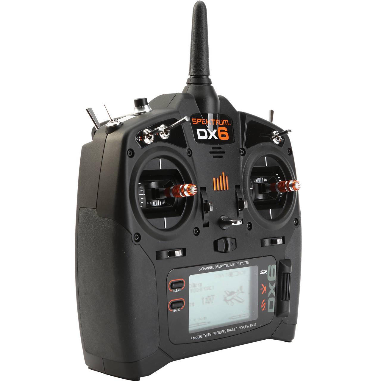 Spektrum SPM6700 DX6 6-Ch DSMX Transmitter W/AR610 Rx - Hobby Station