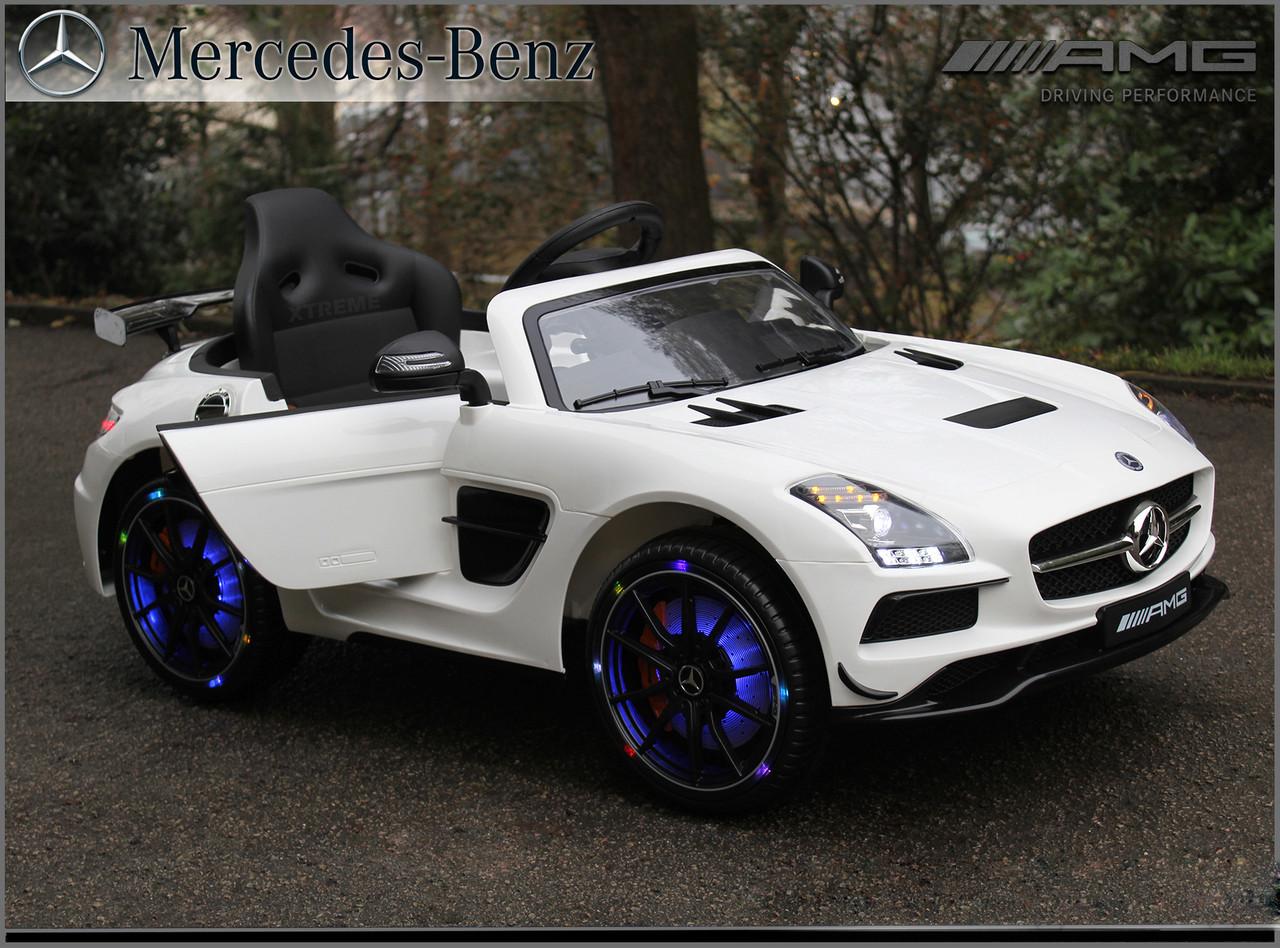 Premium 12v Licensed Mercedes-Benz SLS AMG Ride on Car