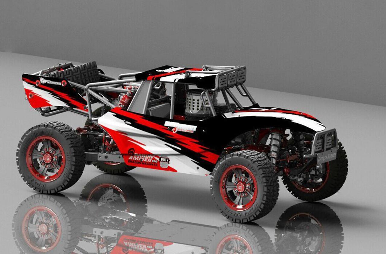 1:5 FID Racing 2 0 Dragon Hammer Desert Truck Zenoah 32CC Engine