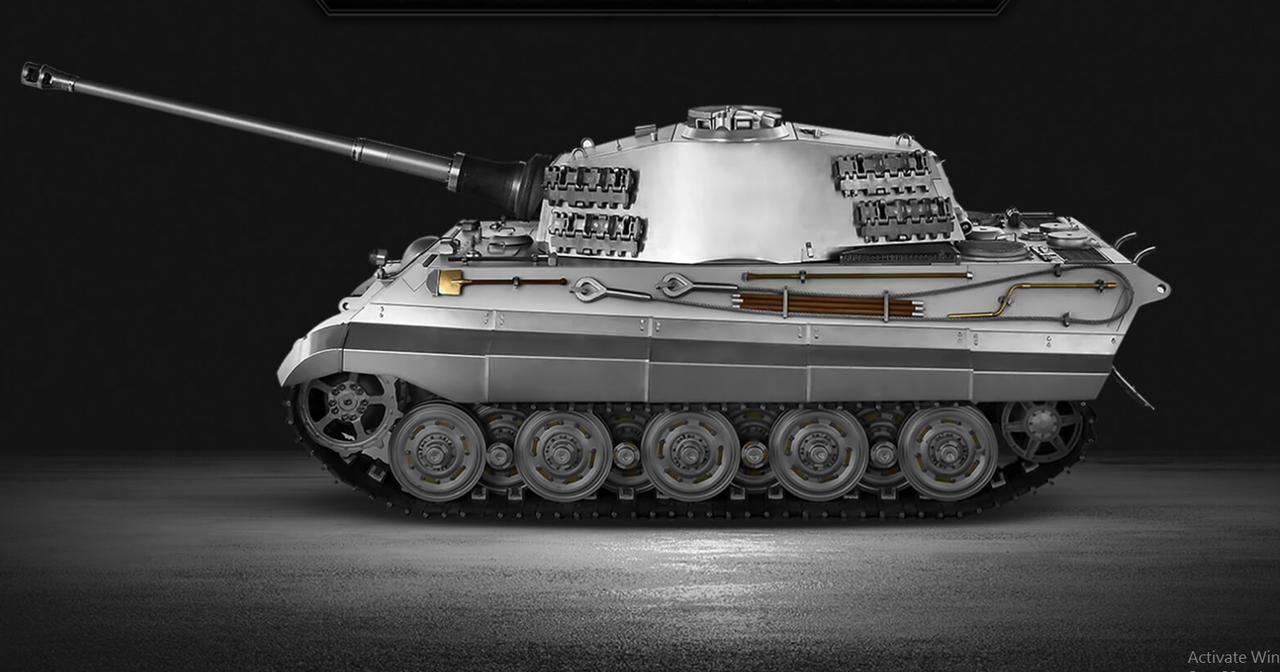 WARSLUG 1:6 scale full metal build King Tiger (Henschel