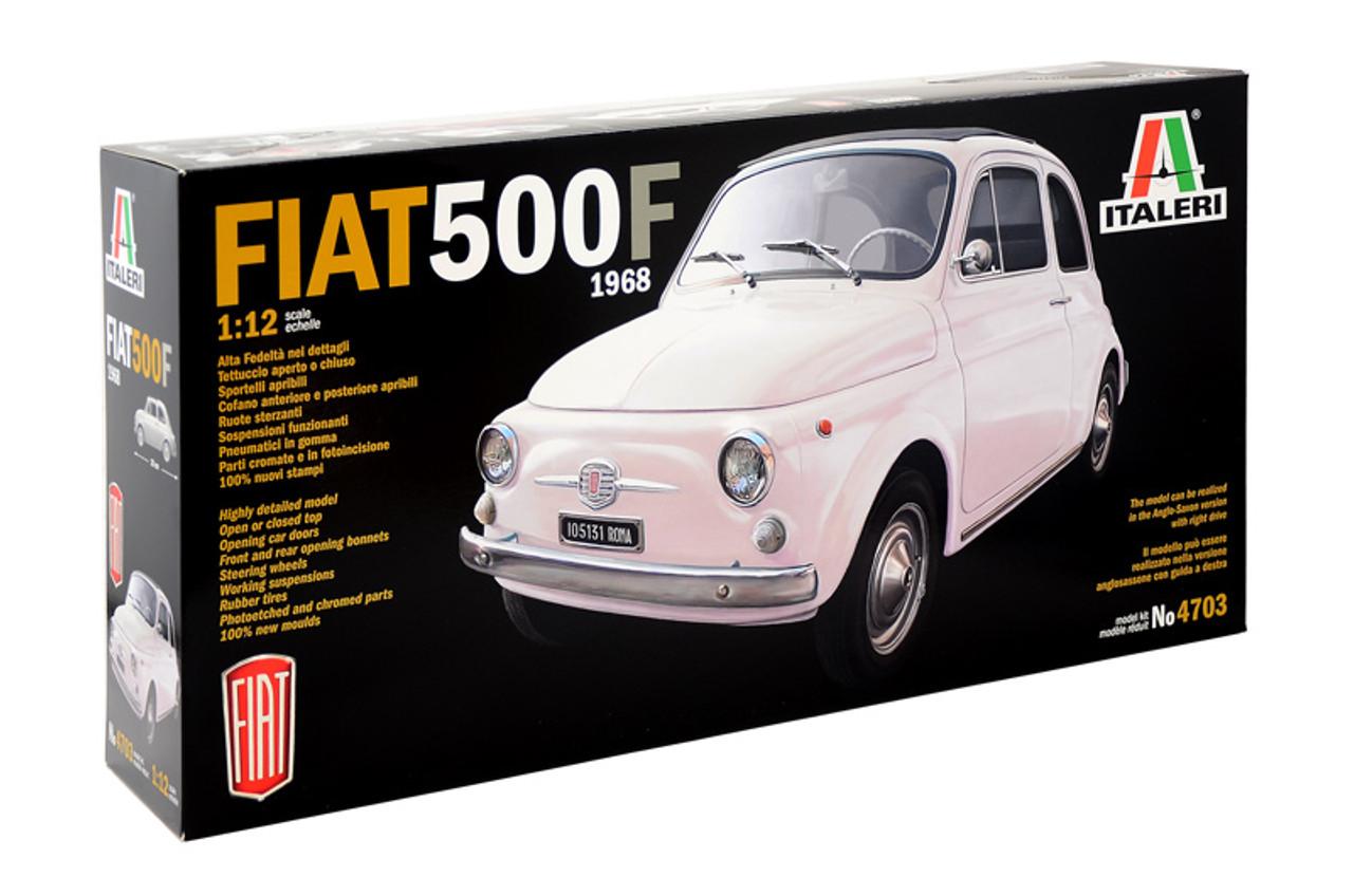 Italeri 1 12 1968 Fiat 500 Bambina Plastic Model Kit 1 4703