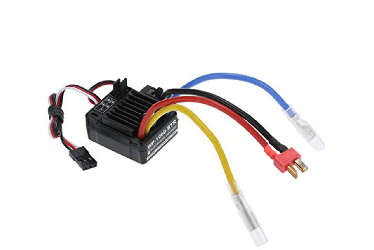 B7003W ESC Electronic Speed Controller Brushed RC 7.2v 1//10 20 Turn T-Plug
