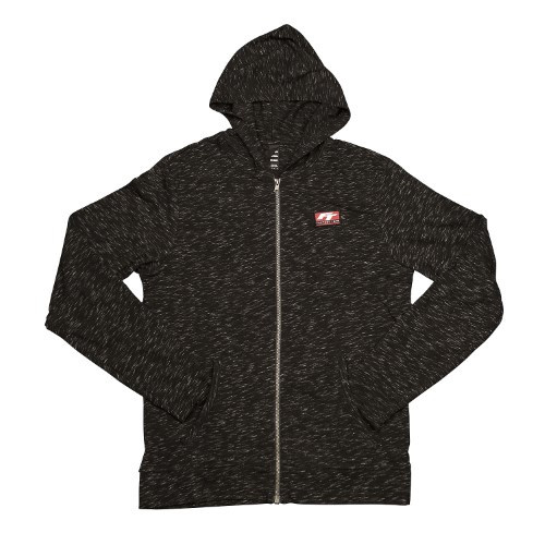 "Factory Team Lightweight ""Medal"" Zip Up (Streaked Black)"