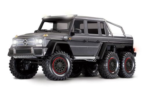 Traxxas TRX-6 1/10 6x6 Trail Crawler Truck w/Mercedes-Benz G 63 AMG Body