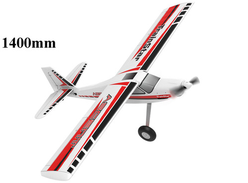 Ascent Volantex TrainStar 1400mm EPO Trainer  RC Plane with Stabilizer features