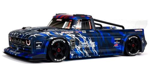 Arrma 1/7 INFRACTION 6S BLX All-Road Truck RTR, Blue With Handbrake