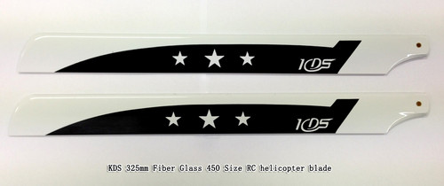 KDS 325mm Fiber Glass 450 Size RC helicopter blade