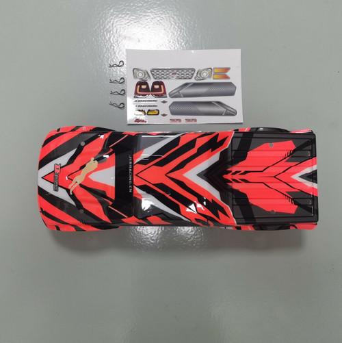 EA1083  JLB Cheetha Body shell ( Red)