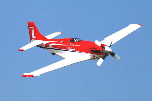 Rochobby P-51 Strega 1100mm High Speed Red PNP