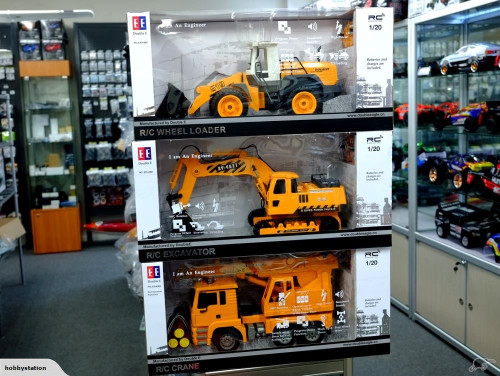 Double E Remote Control Excavator / Digger - Hobby Station