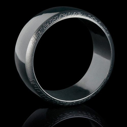 MST CS-R tire (hard) Silver Dot (4/park)