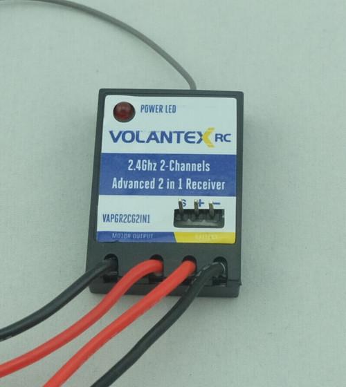 Volantexrc 2.4Ghz 2-Channels Adanced 2 in 1 Receiver
