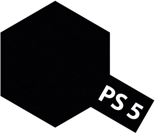 Tamiya PS-5 Polycar Spray Black [86005]