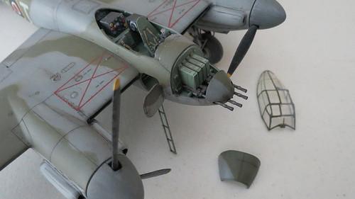 Tamiya - 1/48 De Havilland Mosquito Fighter Aircraft WWII