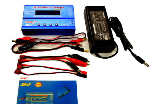 iMax - 80W Balance Charger with Power Supplier