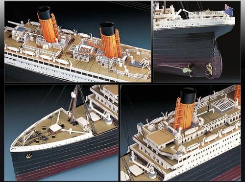 Academy 1/400 RMS Titanic Ocean Liner Plastic Model Kit [14215